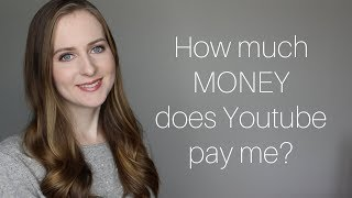 How Much MONEY I Make on YOUTUBE