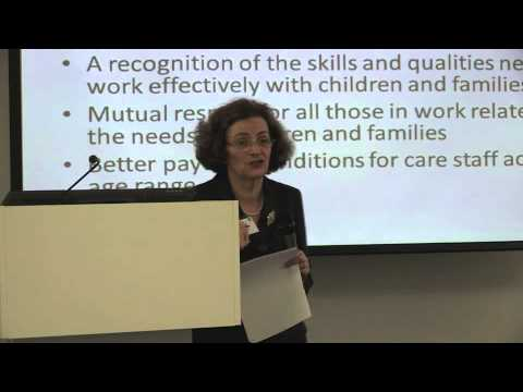 Children and Young People 2012: Naomi Eisenstadt - Senior Research Fellow, Oxford University
