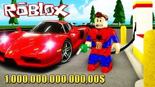 ATENDI 1 billion fast cars at ROBLOX → Gas Station Simulator