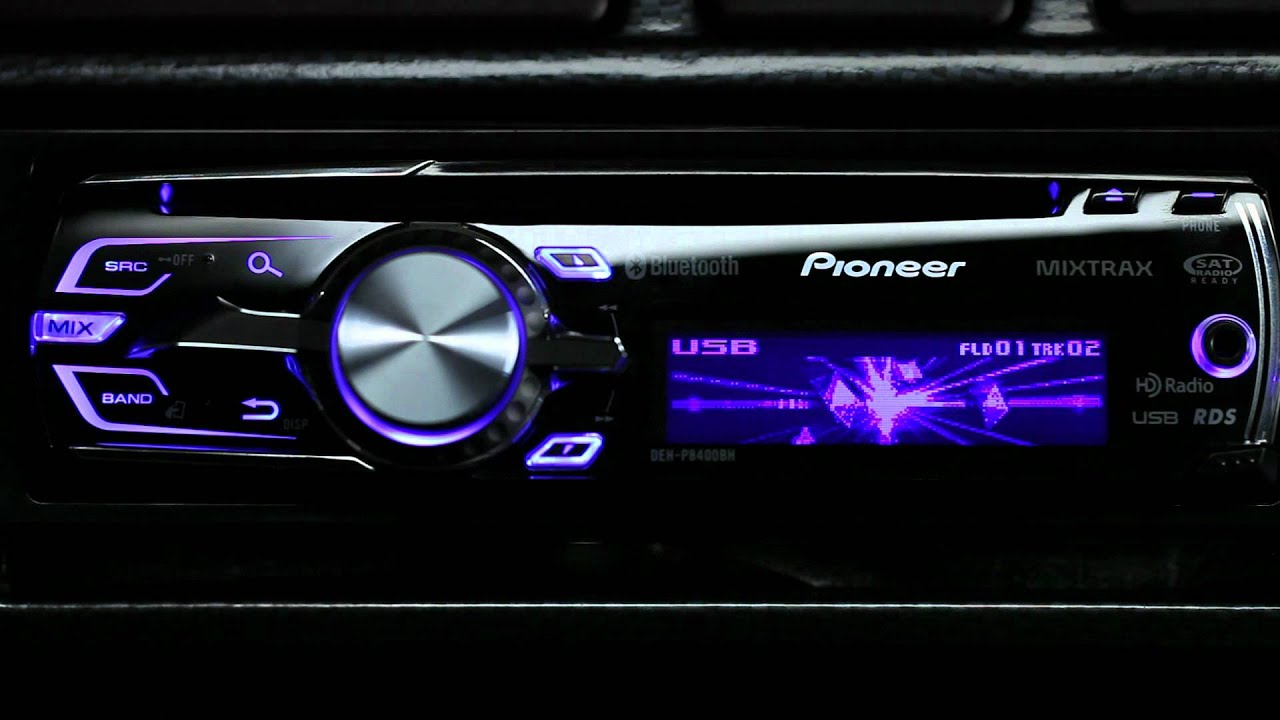 Flashing Color Experience With 2012 Pioneer Car Audio
