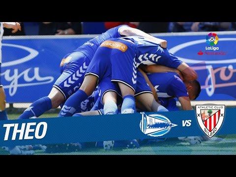 Golazo de Theo Hernández (1-0) Deportivo Alavés vs Athletic Club