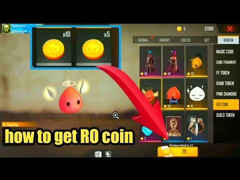 How To Collect RO Coin In Free Fire | Free Fire New RO Coin Token Details