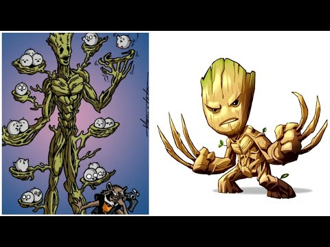30+ Hilariously Funny GROOT Comics To Make You Laugh