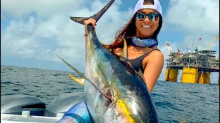 Taking Clients Tuna Fishing | Venice Louisiana