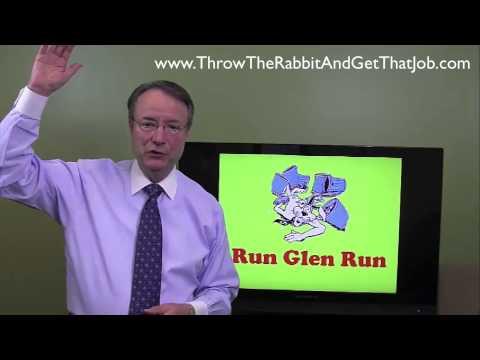 Glenn Cunningham Story from Joe Bonura Throw the Rabbit Job Search Book