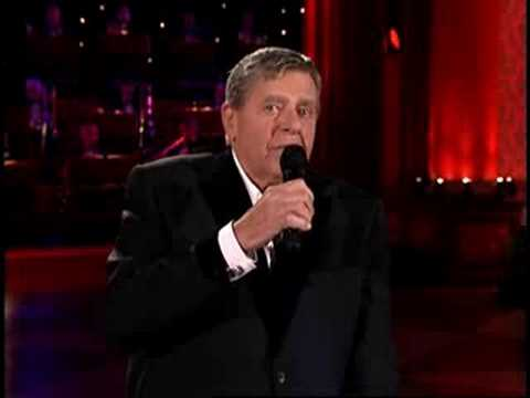 "MDA Telethon 2008 - Jerry Lewis Sings ""You'll Never Walk Alone"""
