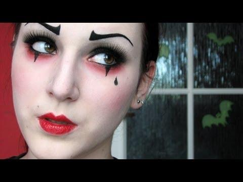Pierrot the Clown [MAKEUP TUTORIAL]