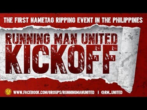Running Man United Kickoff