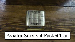 Aircrew Food Packet, Survival, General Purpose Rations from 1982!
