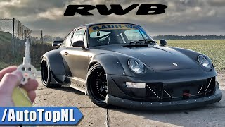 "PORSCHE 993 RWB ""SINGER FROM HELL"" REVIEW on ROAD & AUTOBAHN by AutoTopNL"