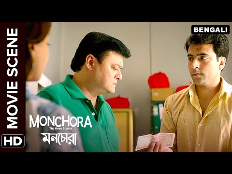Saswata Chatterjee is greedy for money | Monchora | Movie Scene