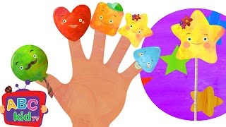 Finger Family Lollipop | Nursery Rhymes & Kids Songs - ABCkidTV