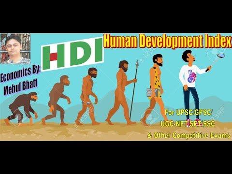 """HDI"" (Human Development Index) lecture by mehul bhatt"