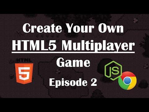 2- Making Multiplayer HTML5 Game: WebSocket Communication. NodeJs Tutorial Guide