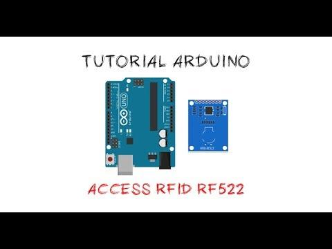 Tutorial Arduino mengakses module RFID RC522
