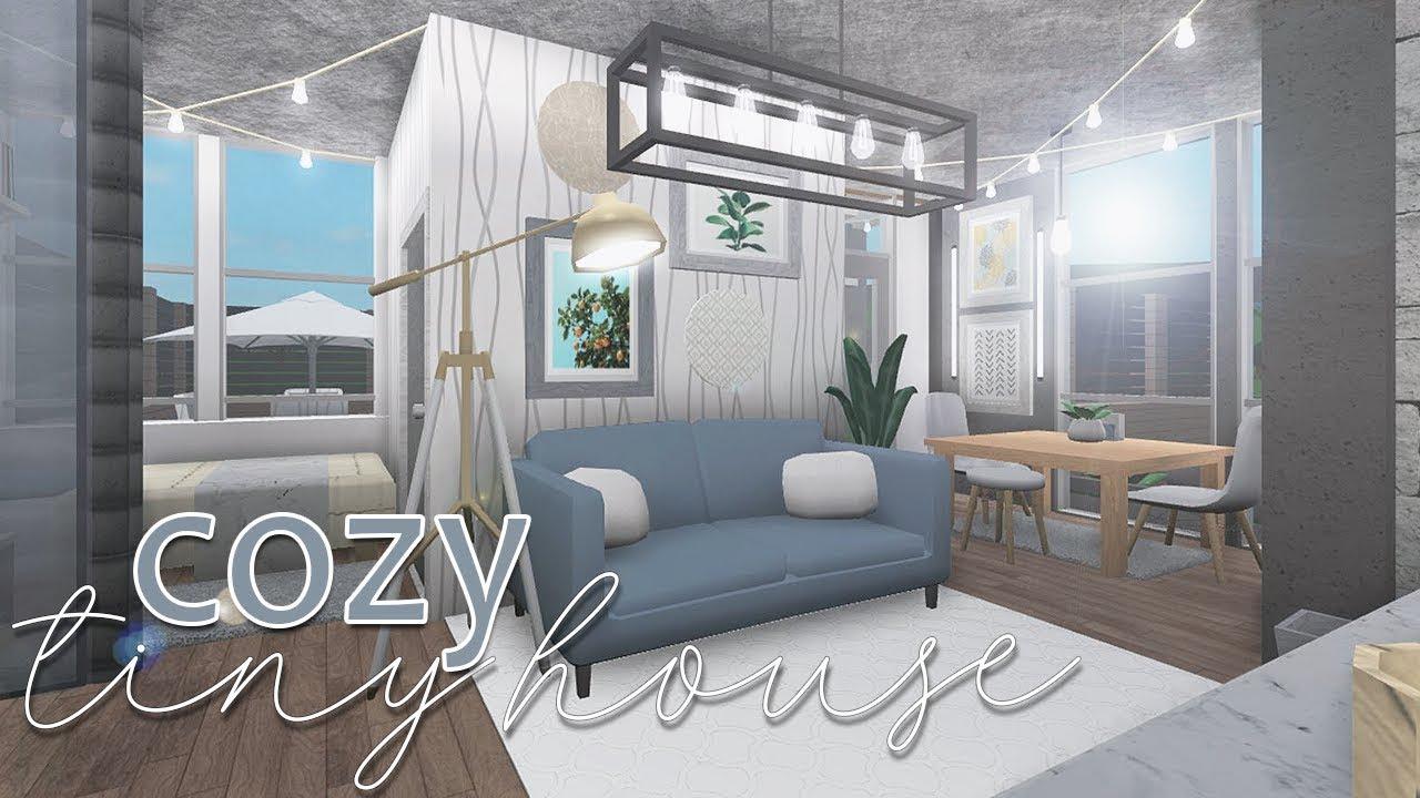 Roblox Bloxburg Cozy Tiny House 40k Youtube