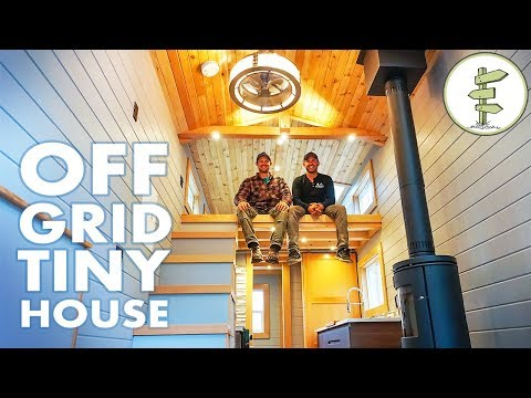 Super Modern Off Grid Tiny House – Full Tour