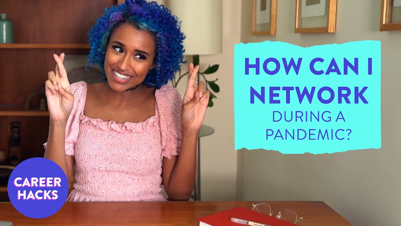 How can I network during a pandemic?