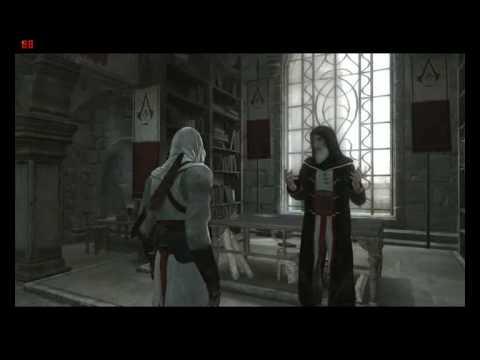 Assassin's Creed - Charla entre Altaïr y Al Mualim