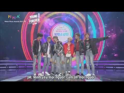 [VIETSUB] 171202 BTS - Spring Day - Best Song of the Year @ Melon Music Awards 2017