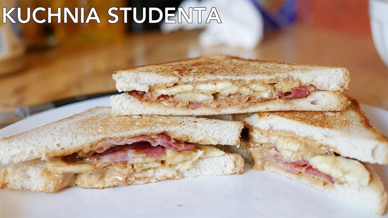 Kanapka ELVISA za 3ZŁ | Kuchnia Studenta #29