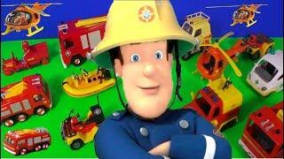 Feuerwehrmann / Fireman Sam's Lunchbox Surprise Toys #Unboxing 🚒