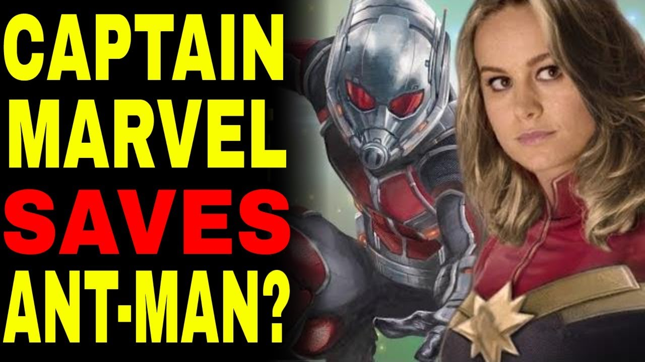 Captain Marvel and Antman Avengers 4 Connection