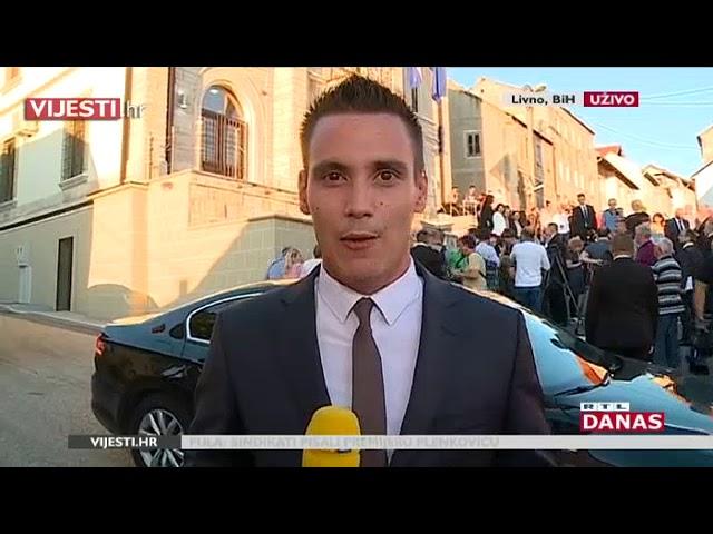 Premijer Plenković u službenom posjetu BiH otvorio konzulat, Livnjaci: 'Zakasnili ste'