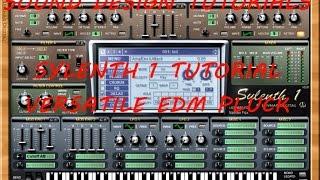 Sylenth 1 Tutorial - Versatile EDM Pluck