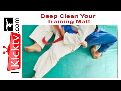 How to Clean a Martial Arts Puzzle Mat