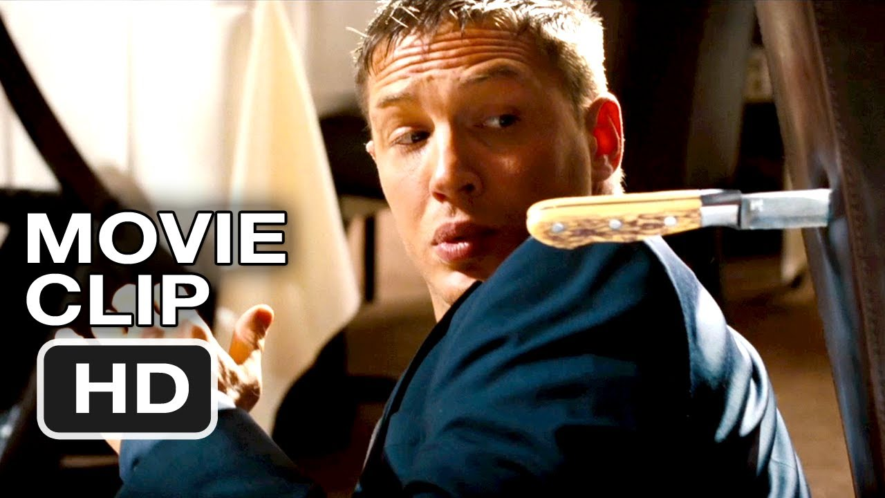 This Means War 1 Movie Clip Restaurant Fight Tom Hardy Chris