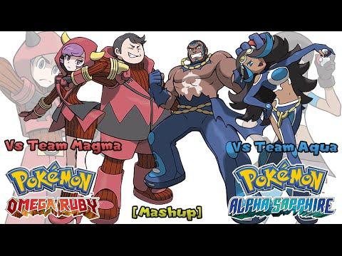 Pokemon OR/AS & Anime - Team Aqua/Magma Battle Music [Mashup] (HQ)