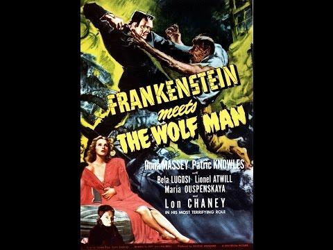 Week 87 (Universal Monsters): Moodz616 Reviews: Frankenstein Meets The Wolfman (1943)