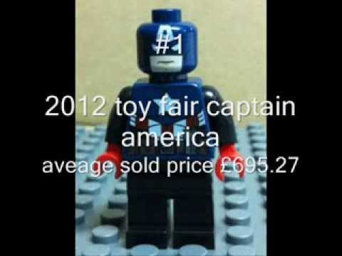rarest most valuable collectable lego minifigures price guide - YouTube
