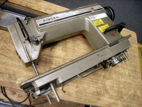 Singer Manufacturing Co  591 Industrial Sewing Machine on GovLiquidation com