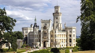 Замок в Чехии - Глубока-над-Влтавой