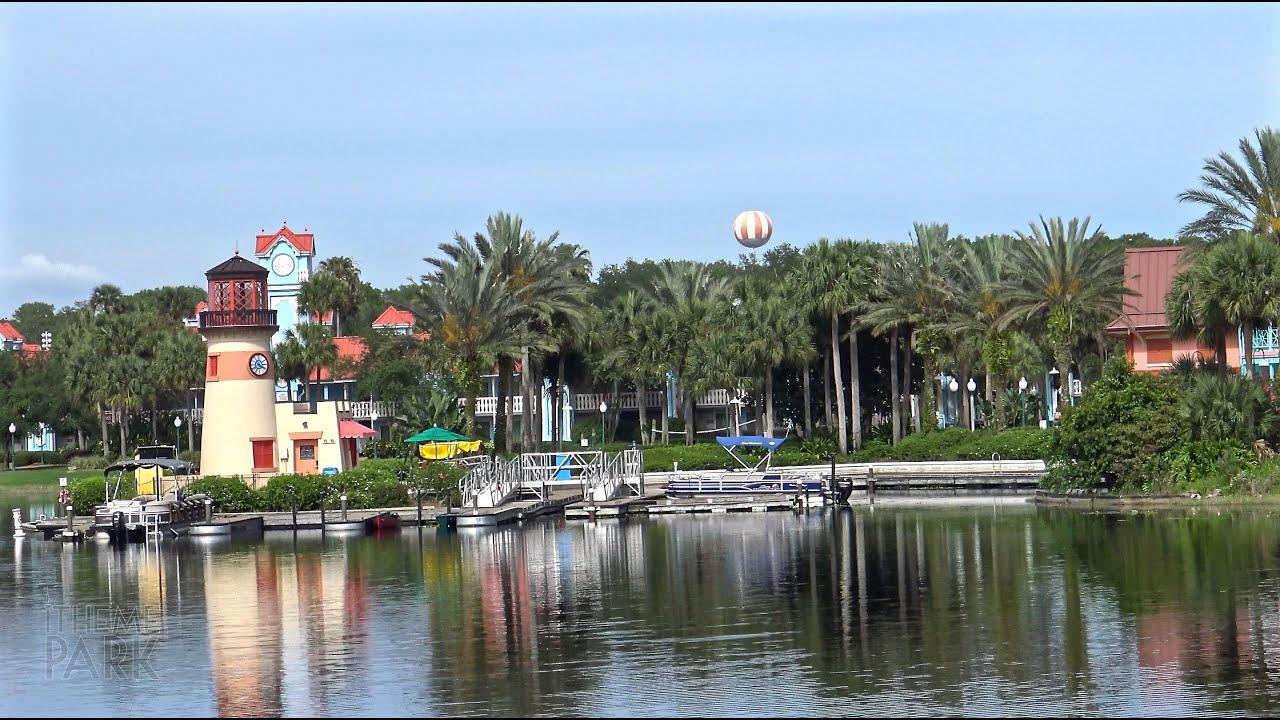 Disney S Caribbean Beach Resort Tour In 4k Walt Disney World Youtube