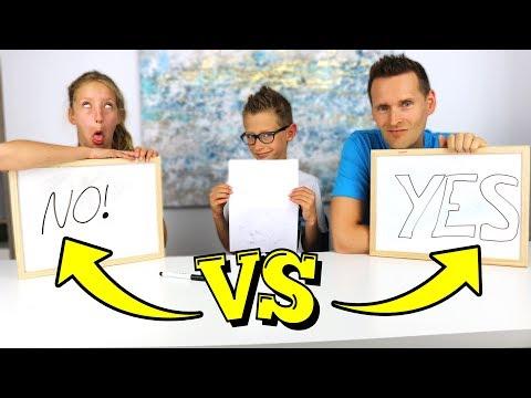 Who Knows Ronald Better?!? KARINA vs DAD