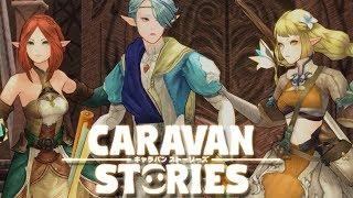 Caravan Stories Online Elven Race Story Gameplay