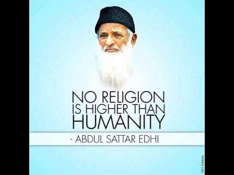 Abdul Sattar Edhi Burial