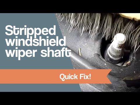 Windshield wiper repair