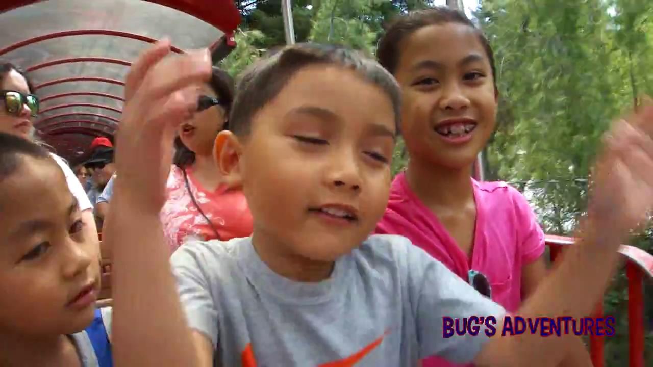 Gilroy Gardens Family Trip   Bug\'s Adventures - YouTube