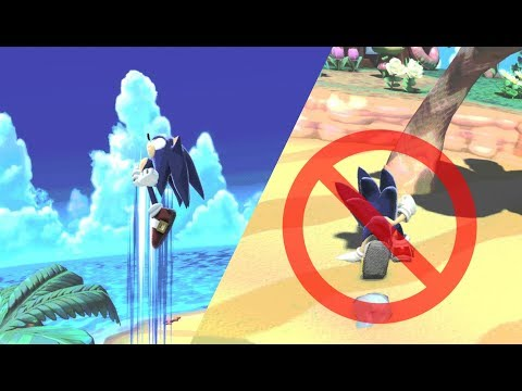 Spring Lag Cancel - Super Smash Bros Ultimate Sonic Tech thumbnail
