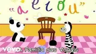 Panda vai à Escola - A Família das Vogais