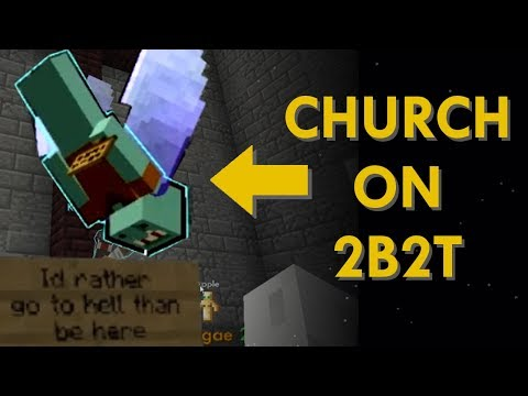 Christian Church On The Most Toxic Server In Minecraft
