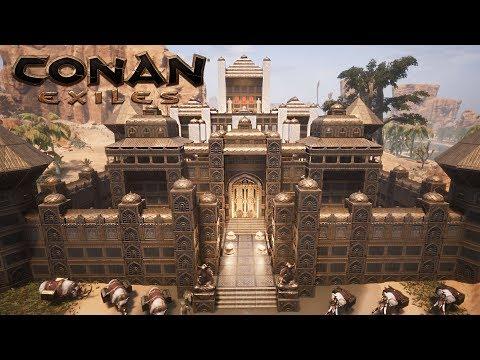 Conan Exiles: Turan DLC - Arabian Palace (Speed Build)