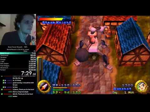 (5:31:02) Brave Fencer Musashi 100%