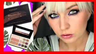 PALETA MAXINECZKA Makeup Revolution test swatche pierwsze wrażenia Beauty Legacy Palette Max