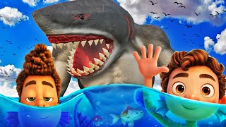 HUMAN SHARK vs LUCA The MOVIE In GTA 5 (New)