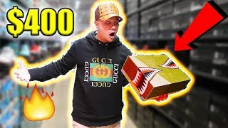 INSANE NIKE OUTLET HAD $400 RARE SNEAKERS!! YOU WON'T FIND THESE ANYWHERE!!